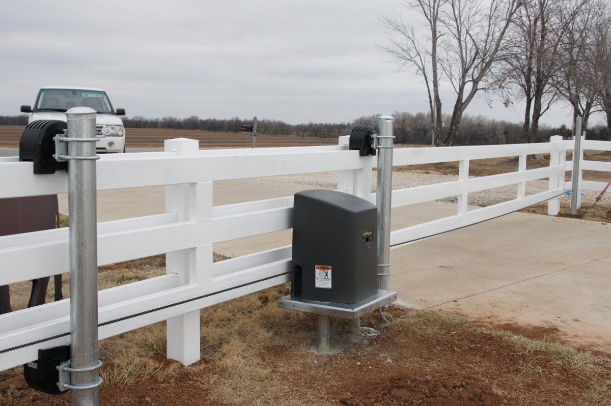 Slide Gate Operators Cheney Door Co Kansas Garage Doors Openers