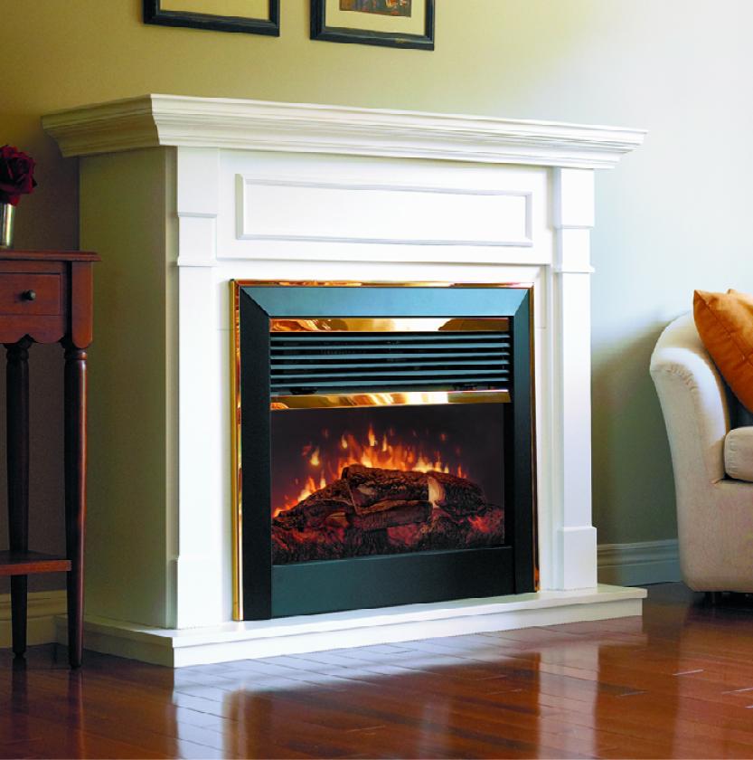Electric Fireplaces Cheney Door Co Kansas Garage Doors