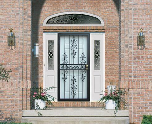 Storm Doors Cheney Door Co Kansas Garage Doors